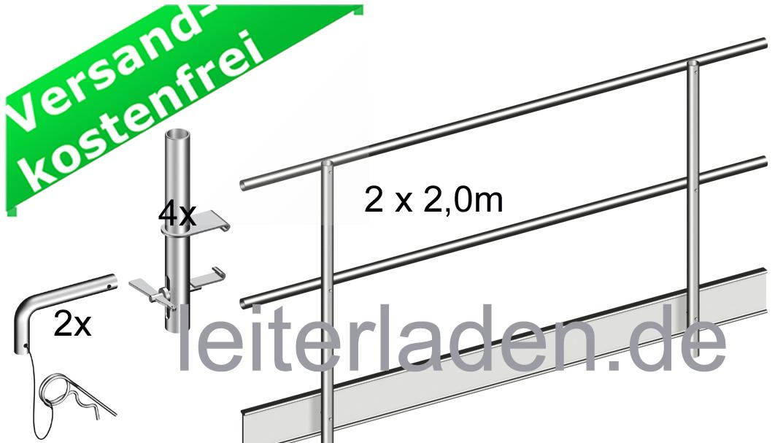 Fabulous Seitenschutz für Alu Steg faltbar 5,12 m SR21