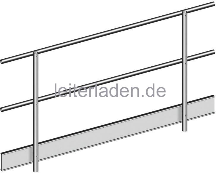 Fantastisch Layher Doppel-Geländer 2 m KW68
